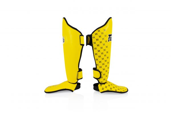 Fairtex-Shin Pads Yellow-SPE5