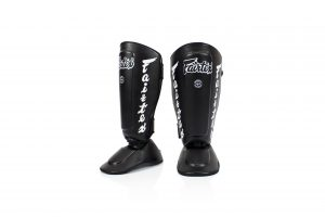 Shin Pads-SP7 Black- Fairtex