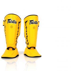 Fairtex- Yellow Shin Pads-SP7