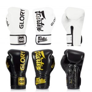 Fairtex BGVG1 Glory Competition Gloves - Black and White