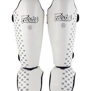 FairtexSPE5 White Shin Pads
