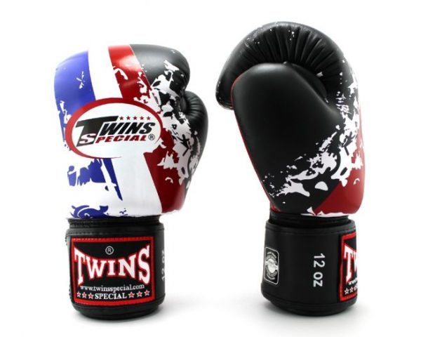 Twins Special Fancy Boxing Gloves FBGV-44 Thai Flag