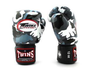 Twins Special Fancy Boxing Gloves Urban Grey FBGV-UG