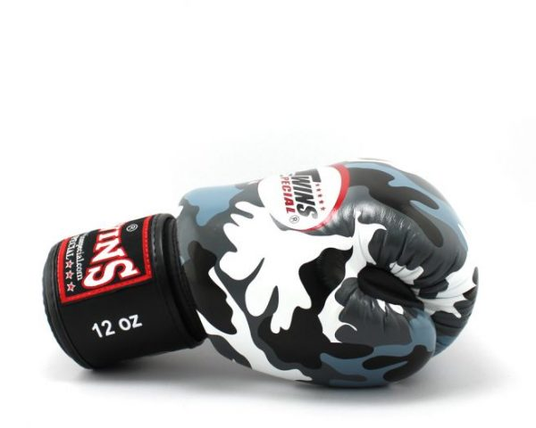 Twins Special Fancy Boxing Gloves Urban Grey FBGV-UG