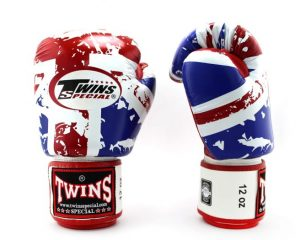 Twins Boxing Gloves FBGV-44 UK Flag