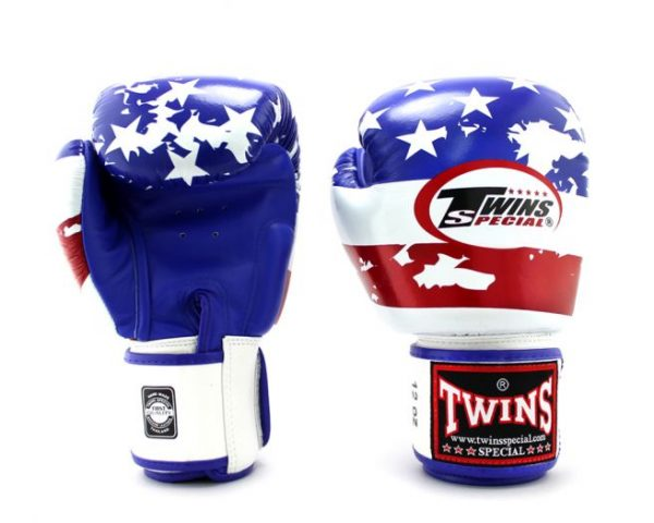 Twins Boxing Gloves FBGV-44 US White