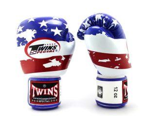 Twins Boxing Gloves FBGV-44 United States (US) Flag