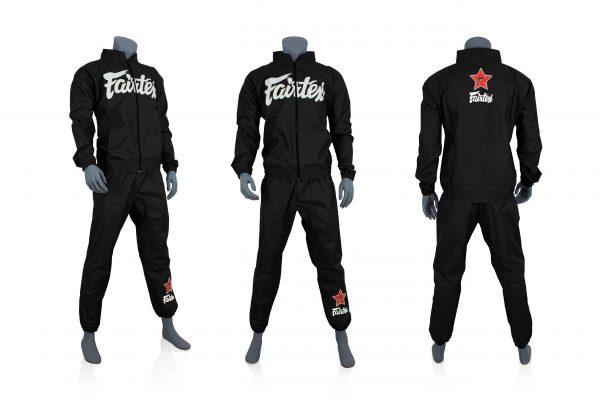 Fairtex Sweat Suit-Black