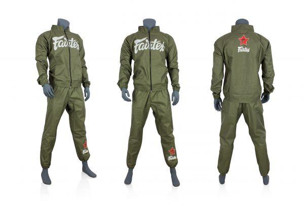 Fairtex-VS2 Sweat Suit-Green