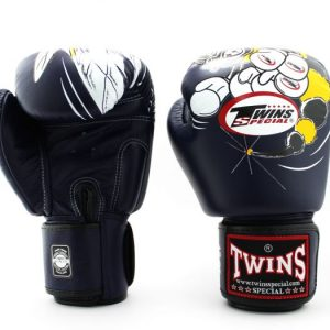 Twins Boxing Gloves-FBGV-15- Black Bee
