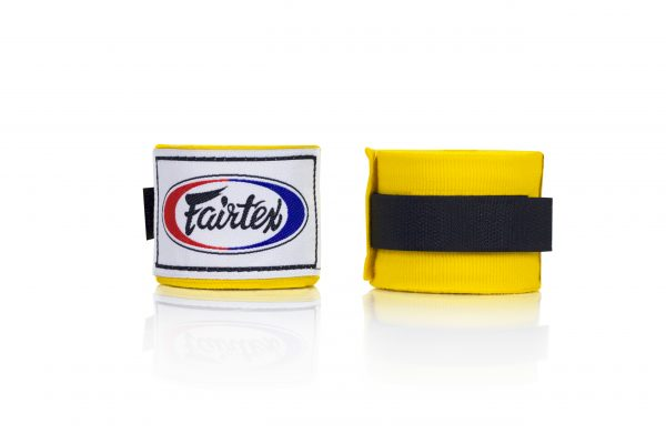 Fairtex HW2 Hand Wraps Yellow