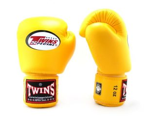 BGVL-3 Yellow Boxing Gloves - Twins