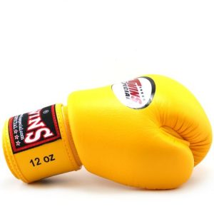 Twins Special BGVL-3Muay Thai Boxing Gloves Yellow