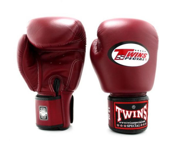 BGVL3 Burgundy Boxing Gloves