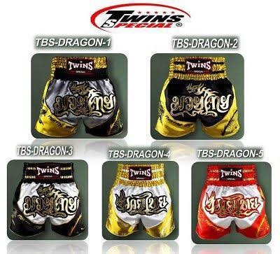 Twins-TBS- Dragon Boxing Shorts- All Colors