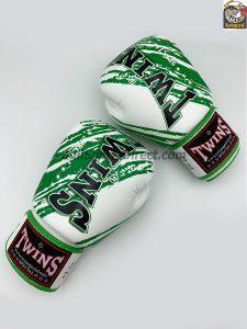 Twins Boxing Gloves FBGV-TW2 White Green