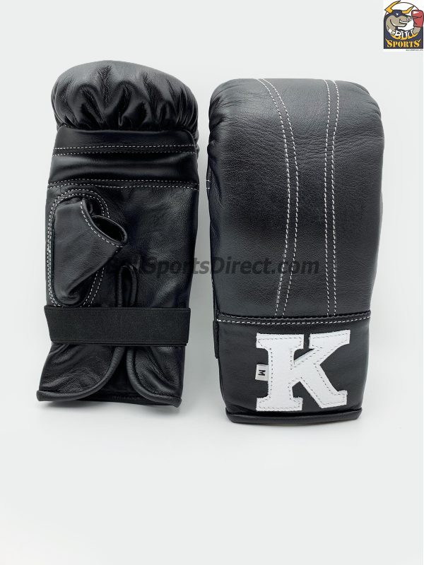 K Brand Black Bag Gloves - Open Thumb