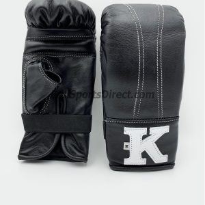 K Muay Thai Bag Gloves - Black