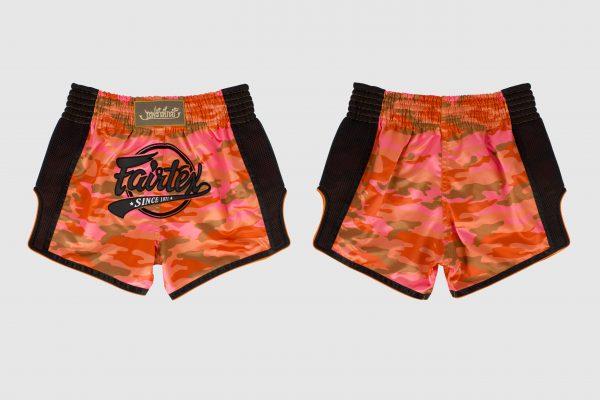 Fairtex - BS1711 - Slim Cut Shorts