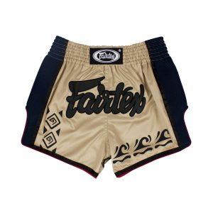 Fairtex Slim Cut Shorts - Khaki