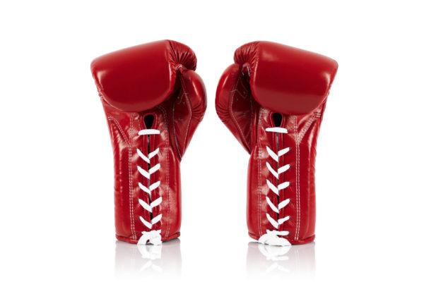 Fairtex BGL7 Pro Training Red Gloves Mexican Style