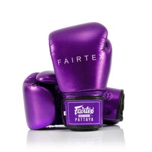 BGV22 Metallic Purple Boxing Gloves