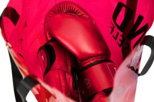 "Fairtex ""Metallic"" Boxing Gloves - Red"