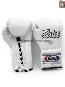 Pro Training White Gloves Mexican Style- Fairtex BGL7