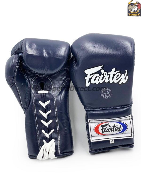Fairtex BGL7 Pro Training Blue Gloves Mexican Style