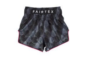 """Fairtex-Slim Cut Shorts """"Stealth"""""""