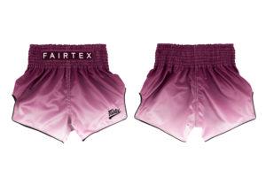 Fairtex-BS1904 Muay Thai Short-Maroon Fade