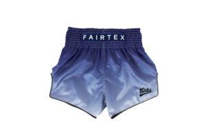 Fairtex-Blue Fade Slim Cut Shorts-BS1905