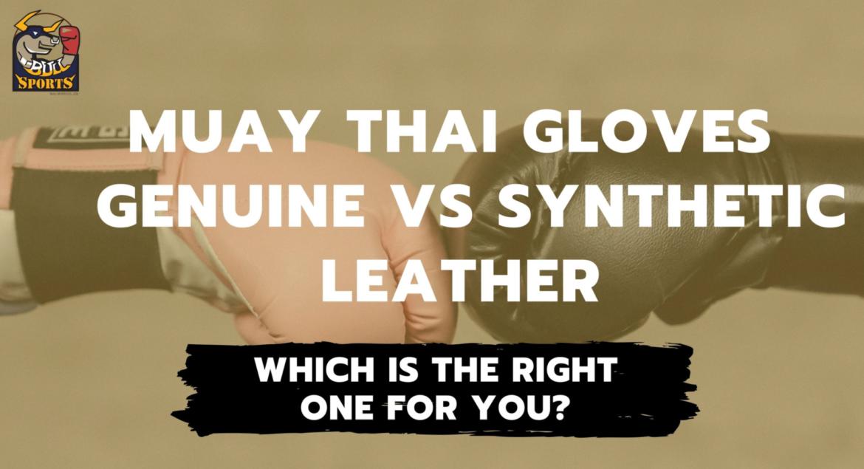 Materials Muay Thai Gloves