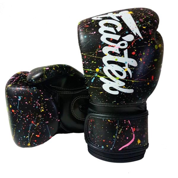 Fairtex Painter Black Boxing Gloves-BGV14